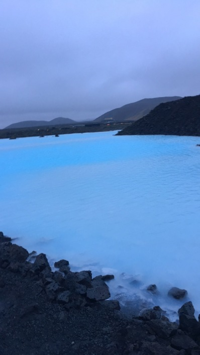 The splendid Blue Lagoon
