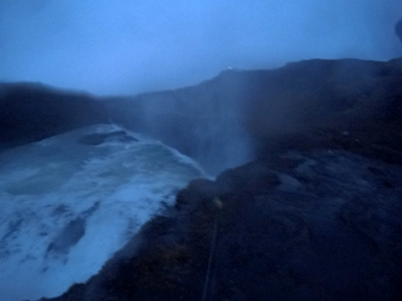 Gulfoss Waterfall. (This Pic is only 1/1000th as cool as in real life).