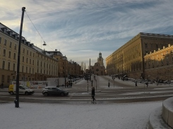 Coin Museum on the Left, The Royal Armoury on the Right