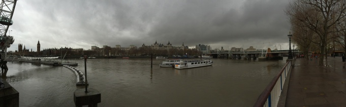 Across the Thames