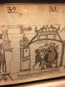 Haley's Comet on the Bayeux Tapestry