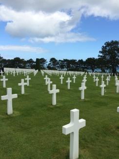 American WW2 Cemetary