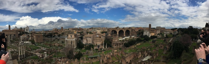 Pano of the Forum