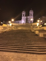 Spanish steps at night, thanks random Uber driver.